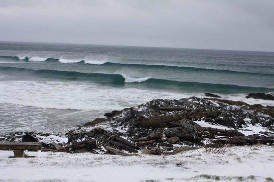 The SeaQuest Estate: Snow on the coast