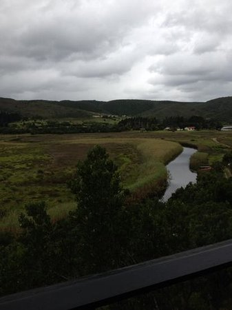 Emily Moon River Lodge: Emily Moon - view frm terrace