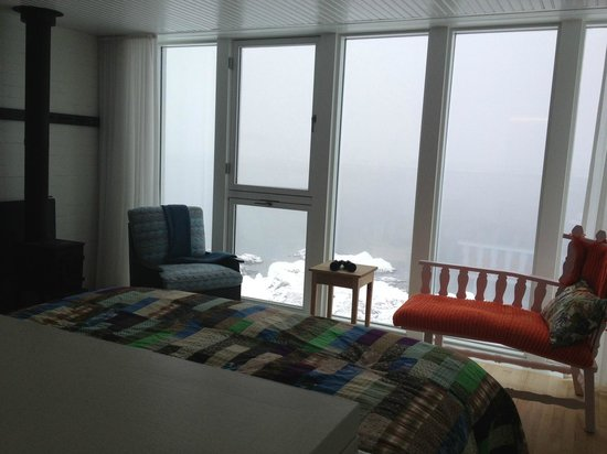 Fogo Island Inn: View of the North Atlantic