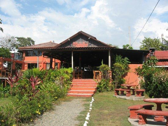 Barba Roja Restaurant: Back view