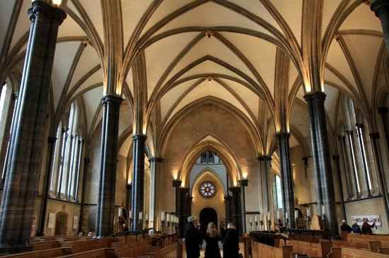 Victorian Gothic Architecture At Temple Church