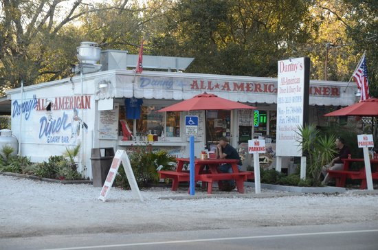 Danny's All American Diner: Outside view of Danny's
