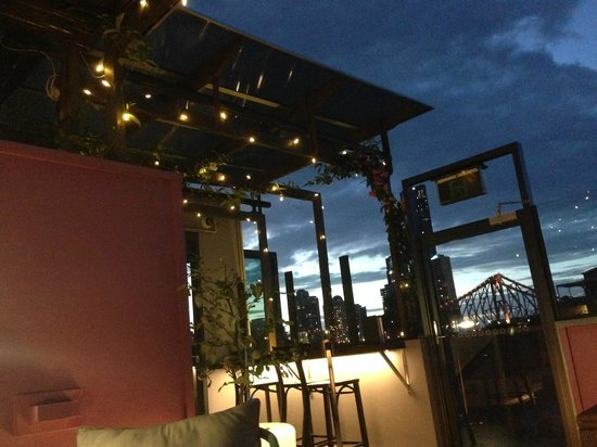 Spicers Balfour Hotel : Rooftop Bar