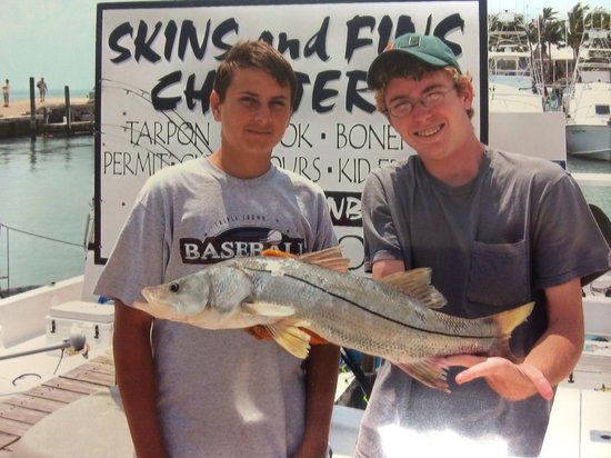 Skins and Fins Fishing Charters and Guides: Snook