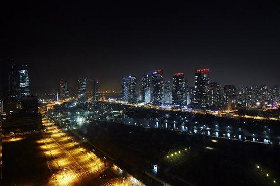 Orakai Songdo Park Hotel: Night View