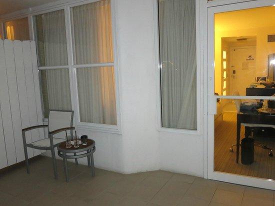 Hilton Fort Lauderdale Marina: balcony