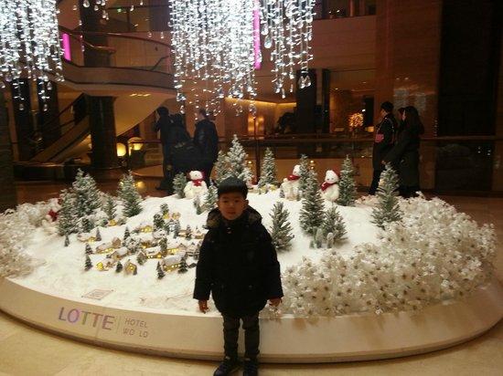 Lotte Hotel World: lobby