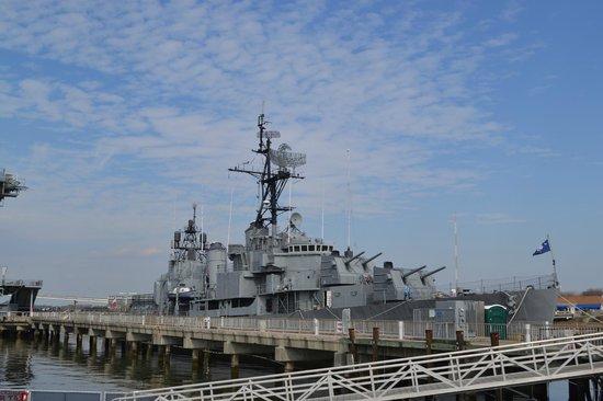 Patriots Point Naval & Maritime Museum: The USS Laffey