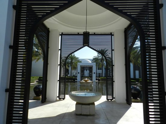 The Chedi Muscat – a GHM hotel: Fountains