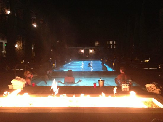 Hotel Yountville: Lovely evening in Napa - February