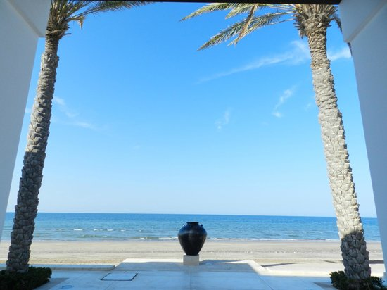 The Chedi Muscat – a GHM hotel: Beach