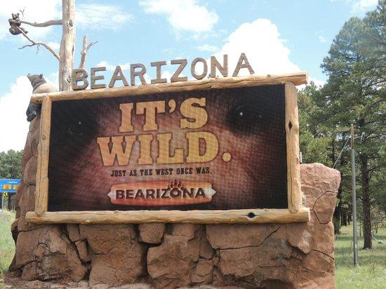 Bearizona Wildlife Park: Entrance