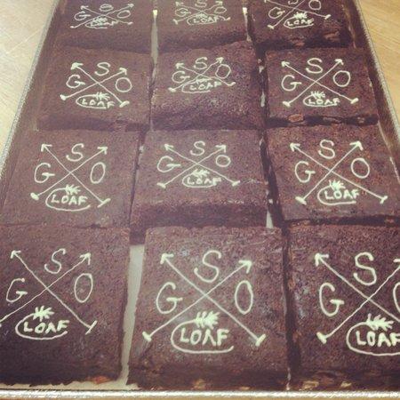 Loaf Bakery: Pecan Chocolate Chunk Brownies