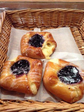 Loaf Bakery: Blueberry Danish
