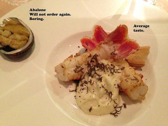 Windows Restaurant at Hotel d'Angleterre: excellent service, poor taste