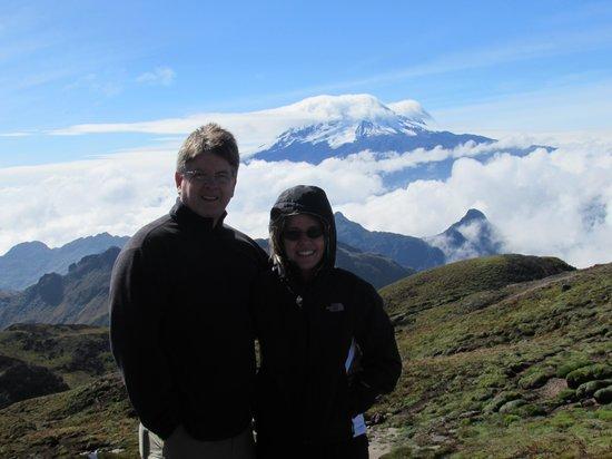 Biking Dutchman : Top of the Mountain