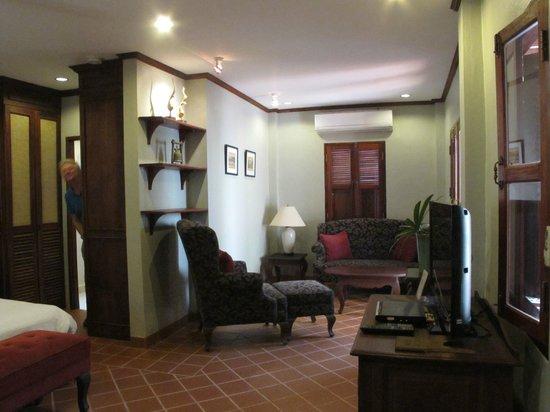 Hotel Villa Deux Rivieres: mini suite