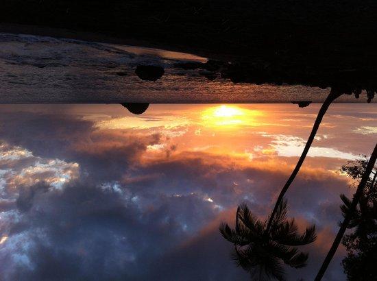Anse Couleuvre: Fantastischer Sonnenuntergang am Strand