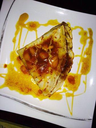 Hotel Castillo: Mango Crepes!