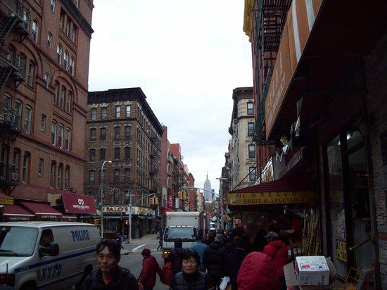 Chinatown: China Town Mott Street