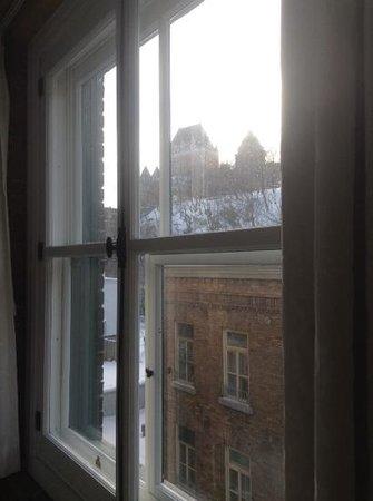 Le Saint-Pierre Auberge Distinctive: view out of room 406
