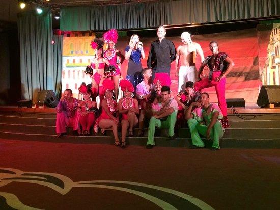 Hotel Pelicano: Spectacle avec les danseurs