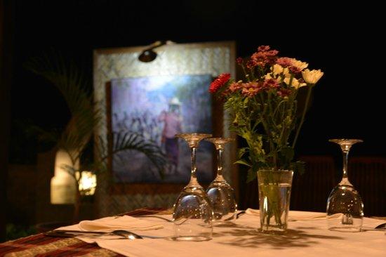 Restaurant Trattoria - La Terrasse: Evening athmosphere...