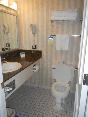 Quality Inn Downtown Inner Harbour: Bathroom