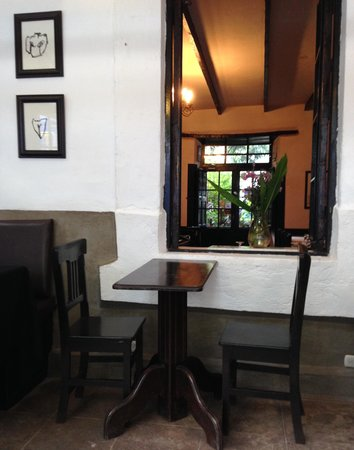 El Albergue Ollantaytambo: the restaurant