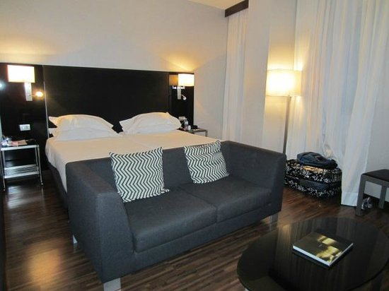 AC Hotel Milano: Beds can be separated