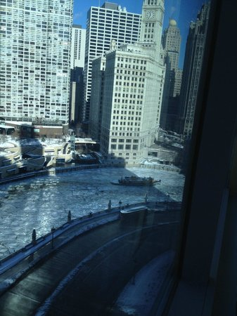 Wyndham Grand Chicago Riverfront : View of Ice Breakers