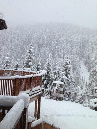 Hotel & Spa Rosa Alpina: Snow!