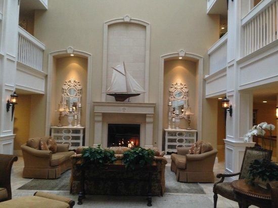 Oceano Hotel & Spa Half Moon Bay : Hotel Lobby
