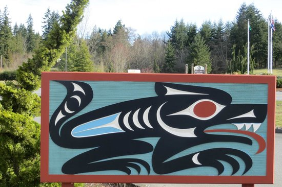 Quileute Indian Reservation: Native art