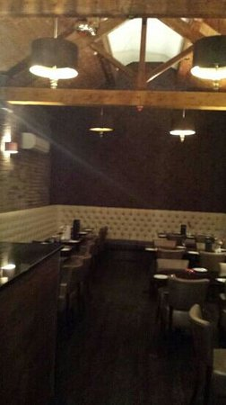 Balti Kitchen: the new extension dining room