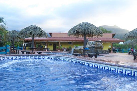HOTEL LA PRADERA: View from hot tub