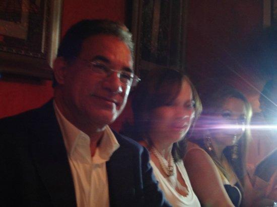 La Boheme Bistro: Birthday girl and her husband.