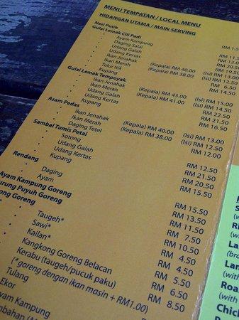 The Menu Local Negeri Sembilan Cuisine Must Try Picture Of