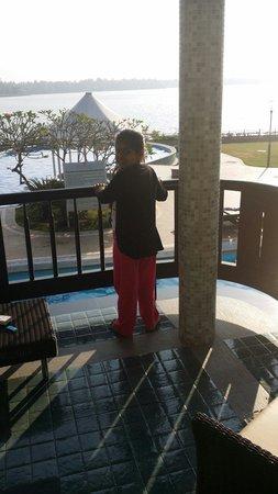 Ramada Resort Cochin: @ room no:106 balcony