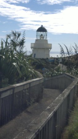 Manukau Heads Lighthouse : The wooden Light House