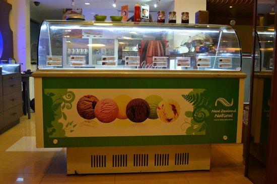 Harrisons Hotel: Newzeland Naturals - ICE Cream Parlour