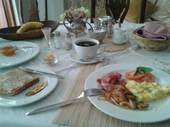Malandela Guest Manor : Breakfast