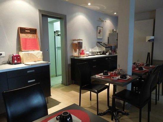 Hotel Turenne Le Marais: 朝食会場