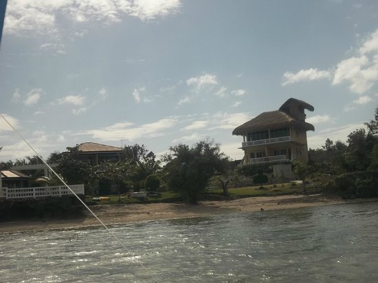 Moalboal Beach Resort: view from water