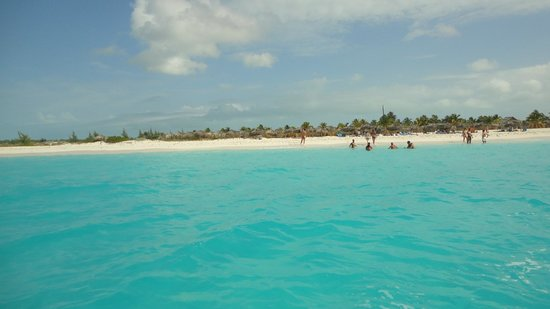Playa Paraiso, en cayo largo, Cuba