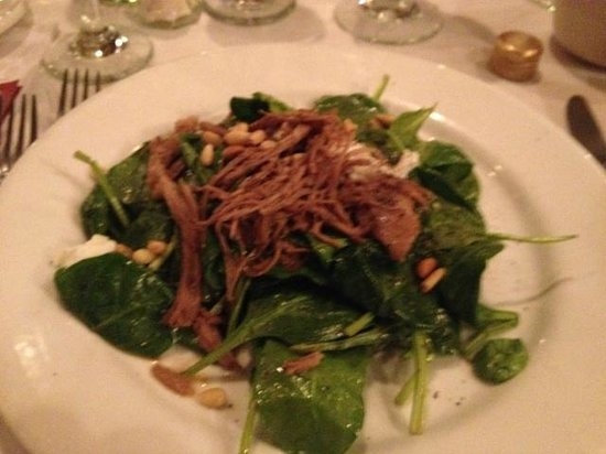 Trattoria I Trulli: Duck Breast Salad