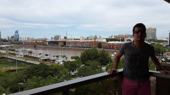 Hotel Madero: Balcon de la Habitacion 507