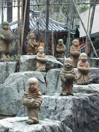 Chohoji Temple: 十六羅漢像です