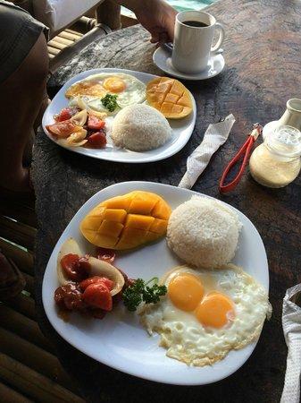 Spider House Resort: Filipino breakfast! So good.