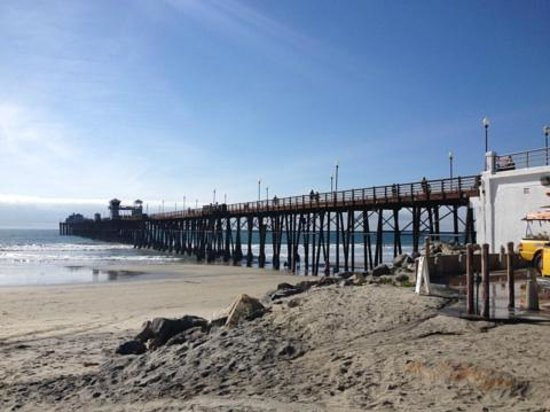Oceanside Pier: Pier at Noon